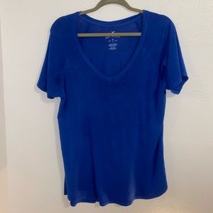 American Eagle Outfitters Soft & Sexy Blue Shirt